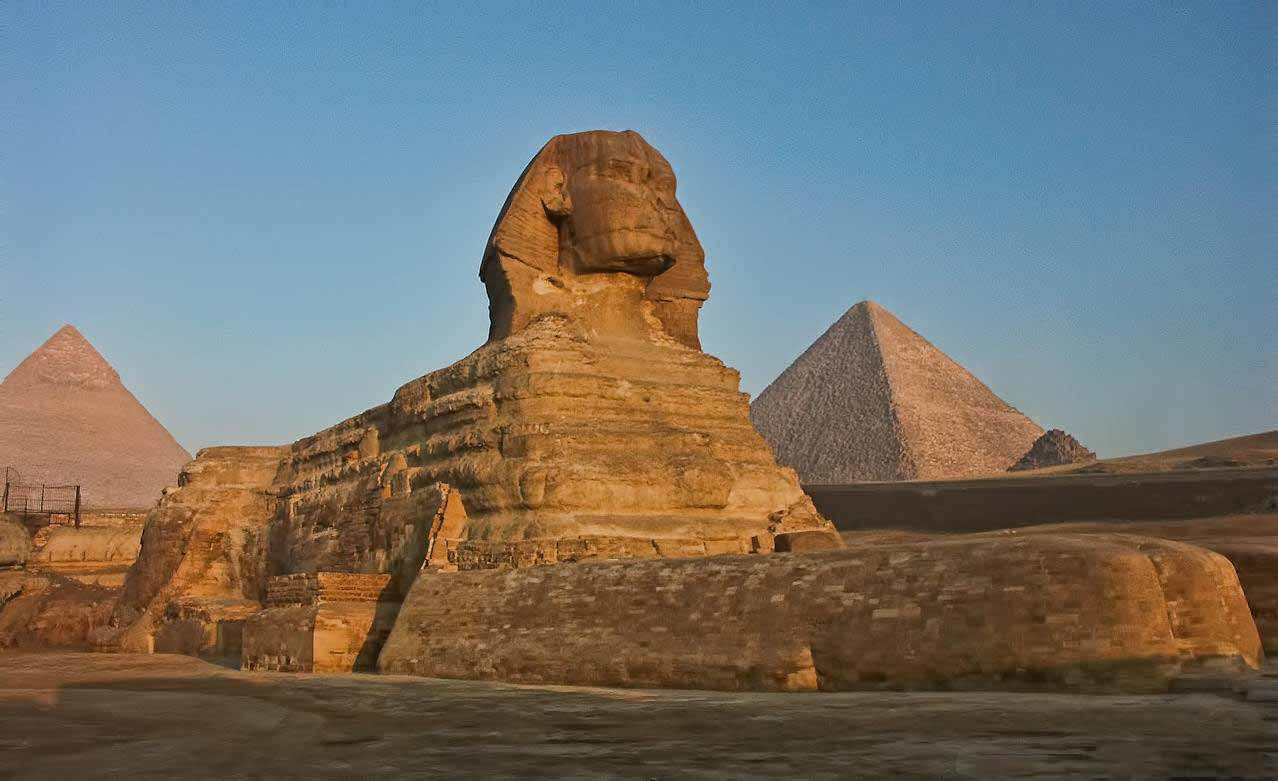 The Sphinx | Giza Pyramids | Cairo by flight from Marsa Alam