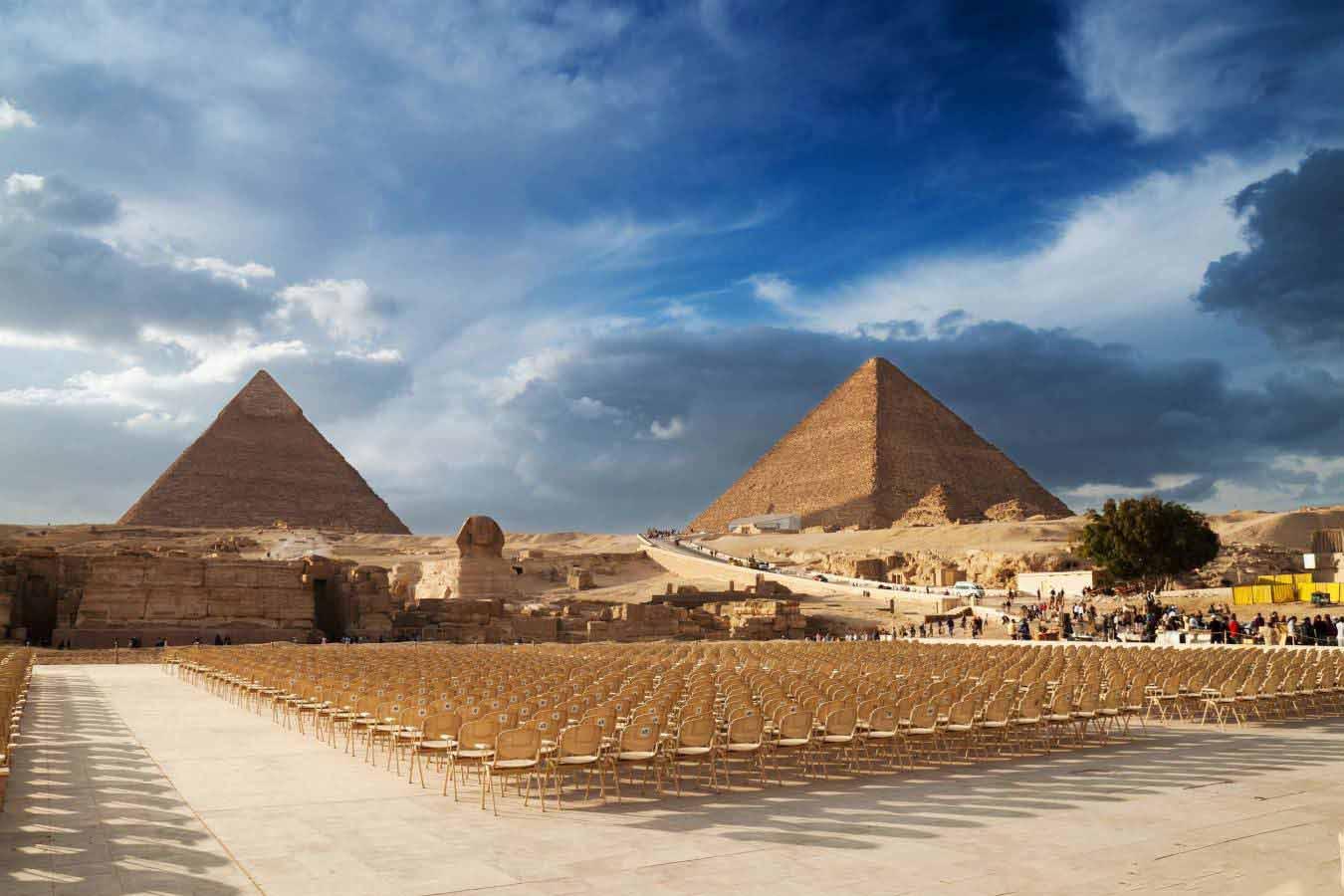 Giza Pyramids | Cairo Tour by air from Hurghada