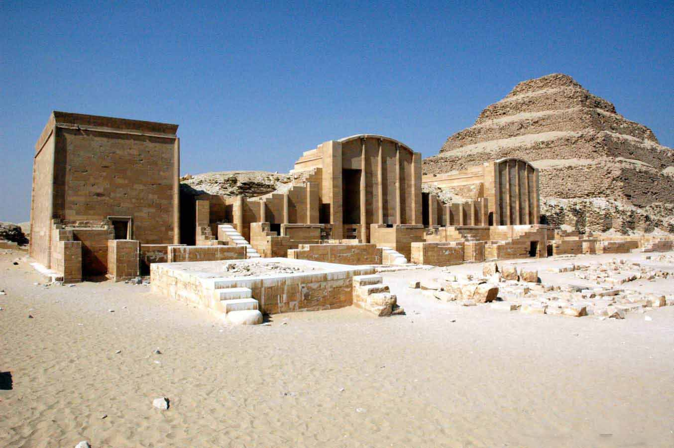 Saqqara the Step Pyramid | Pyramids tour from Hurghada