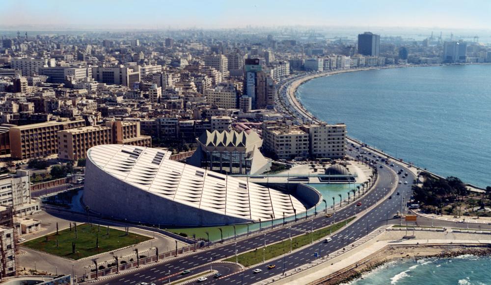 Information About Alexandria Library | Egypt Tours Portal
