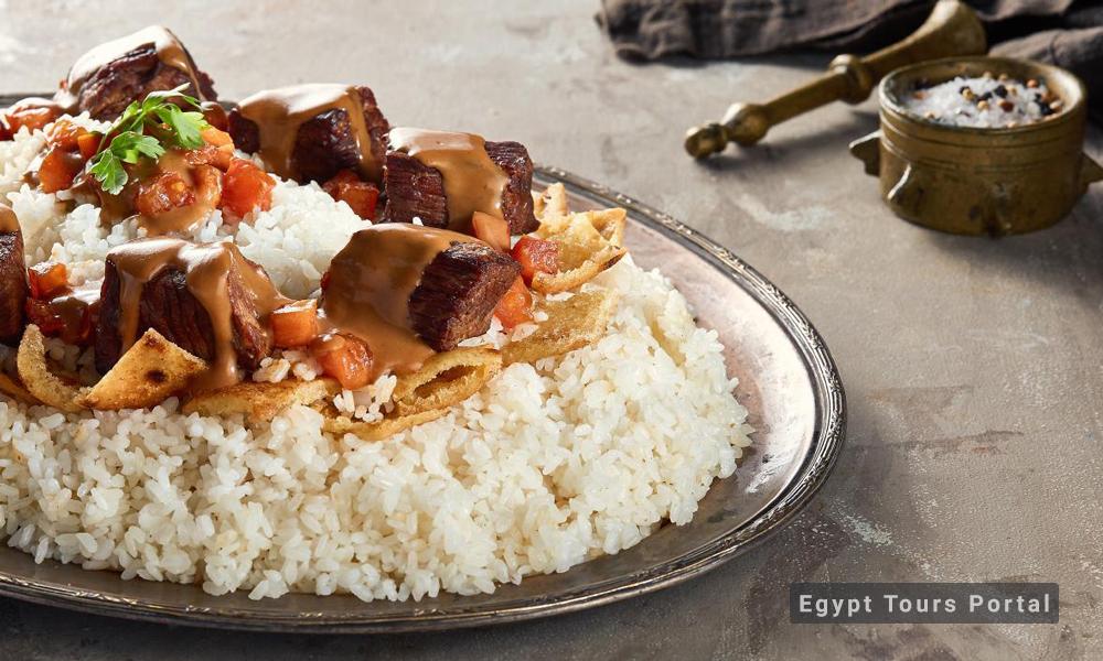 Fatta - Egyptian Food - Egypt Tours Portal