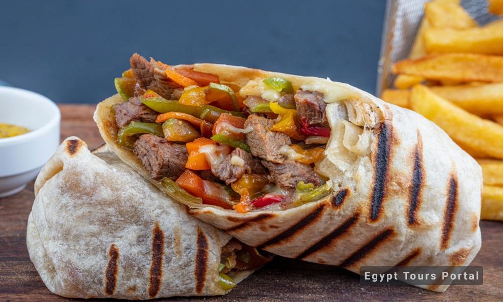 Shawerma - Egyptian Food - Egypt Tours Porta
