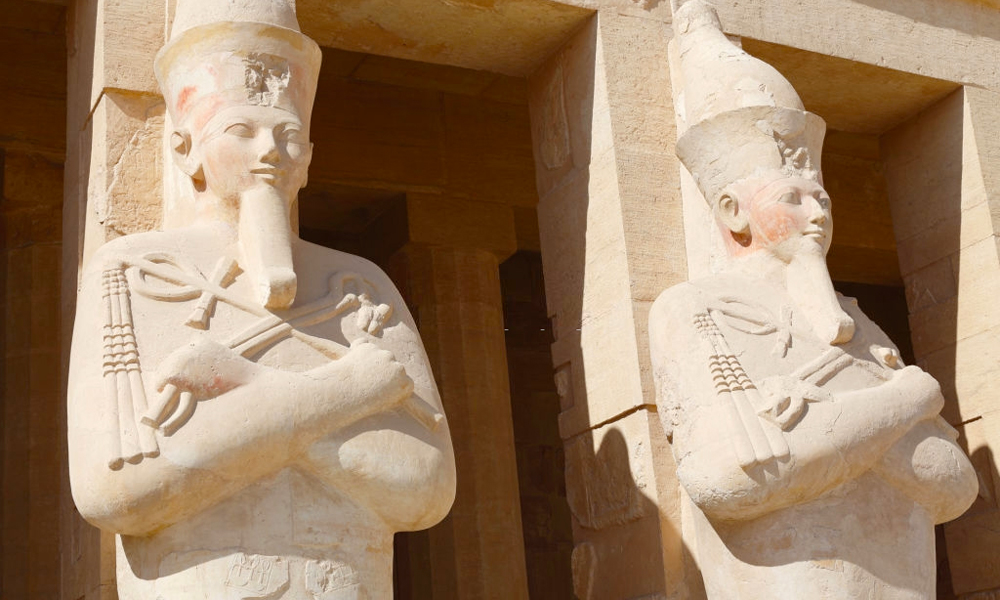 Hatshepsut Temple - Egypt Holidays Types - Egypt Tours Portal