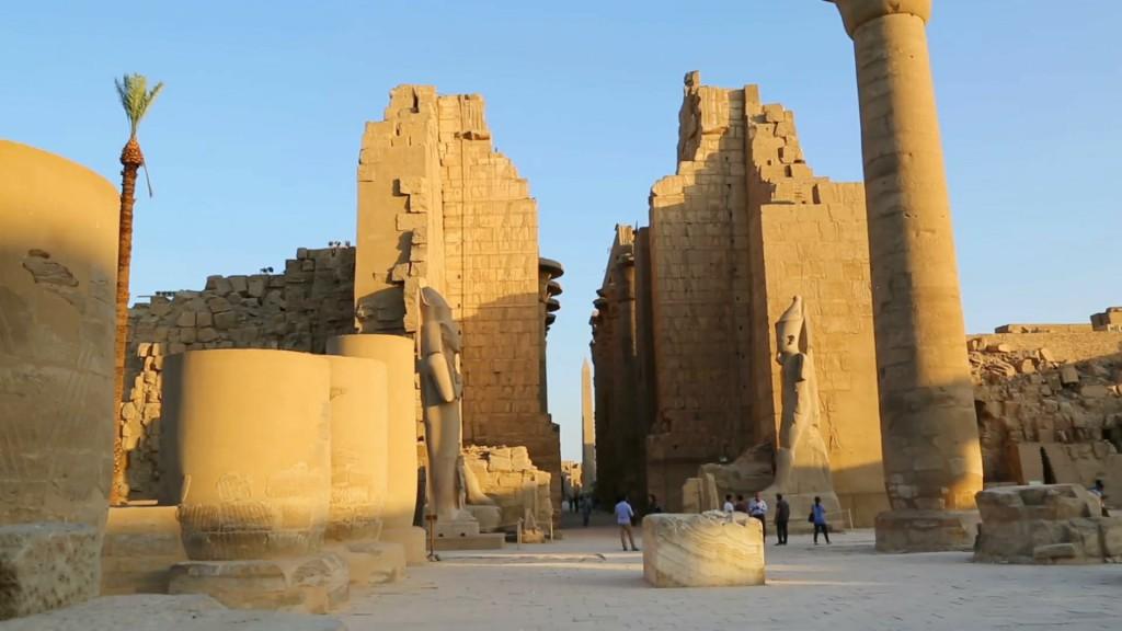 Karnak Temple of God Atum