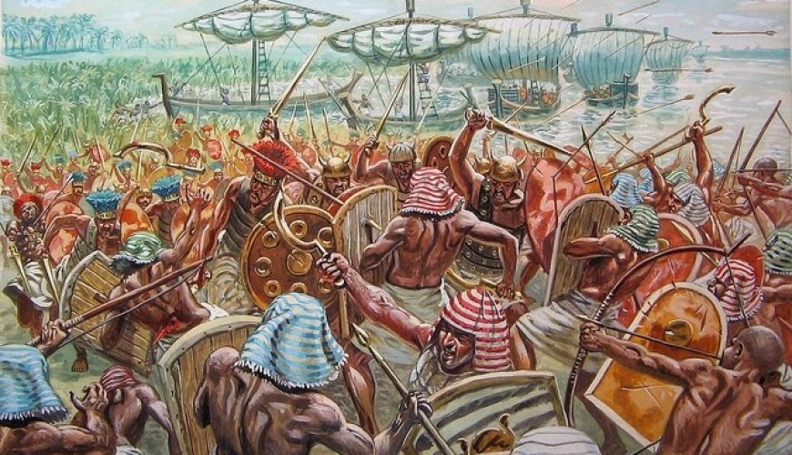 The Battle of Djahy - Egypt Tours Portal