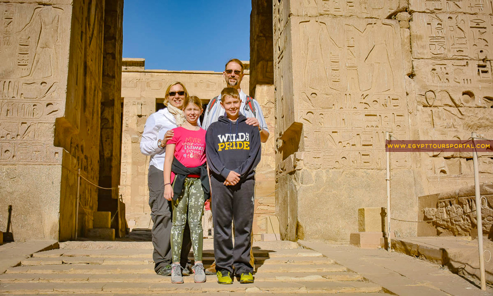 Edfu Temple - How to Plan A Family Vacation to Egypt - Egypt Tours Portal