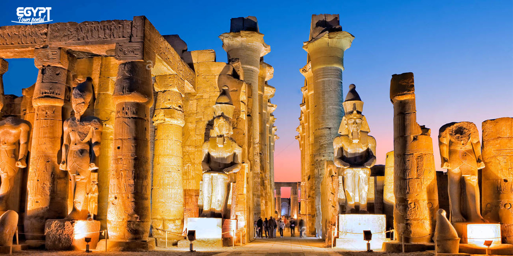 Luxor Temple By Night - Christmas and New Year in Egypt