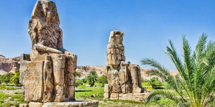 Colossi of Memnon - Egypt Tours Portal
