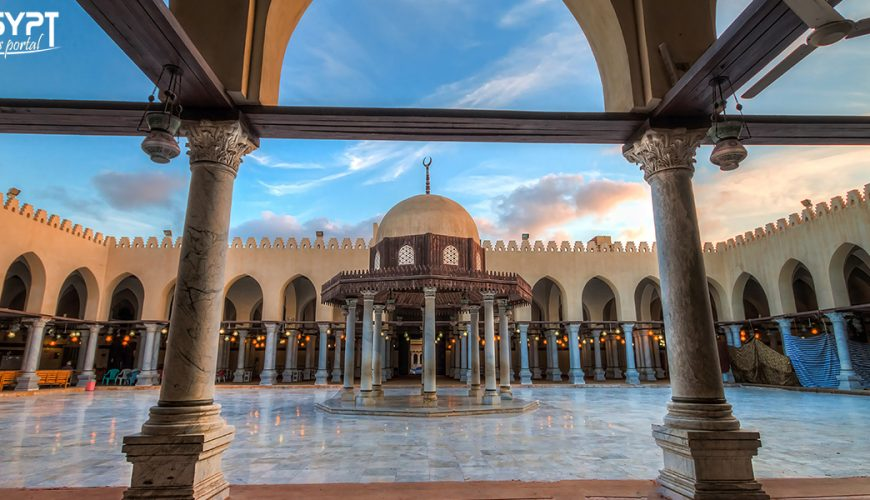 Amr Ibn Al-Aas Mosque - Egypt Tours Portal