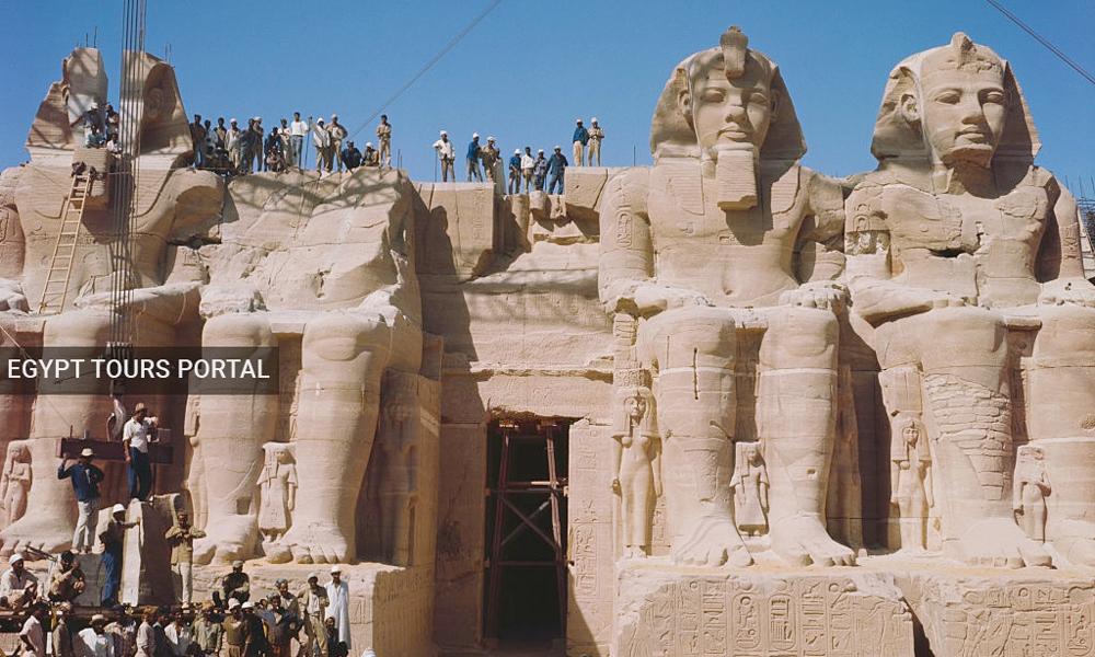 Abu Simbel Temple Relocation Process - Egypt Tours Portal