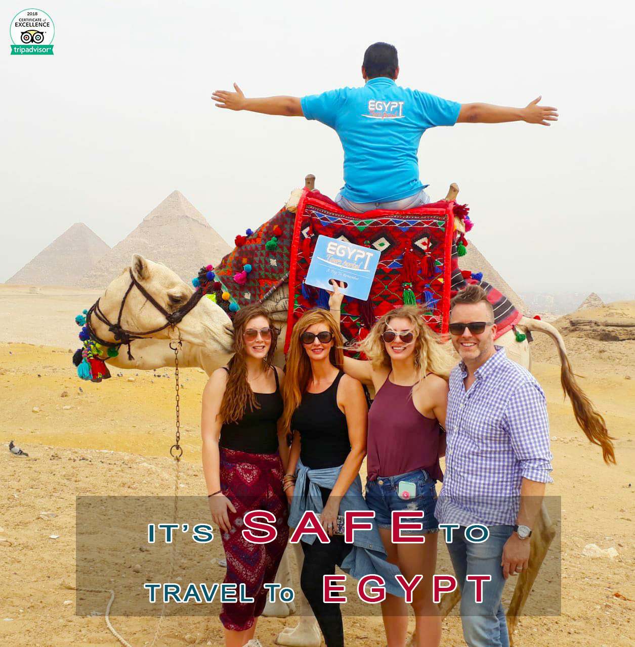 Giza Pyramids - It's Safe to Travel to Egypt - Egypt Tours Portal