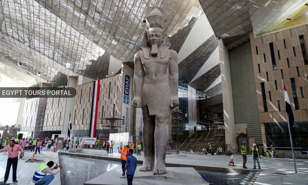 The Grand Egyptian Museum 2020 - Safety in Egypt 2020 - Egypt Tours Portal