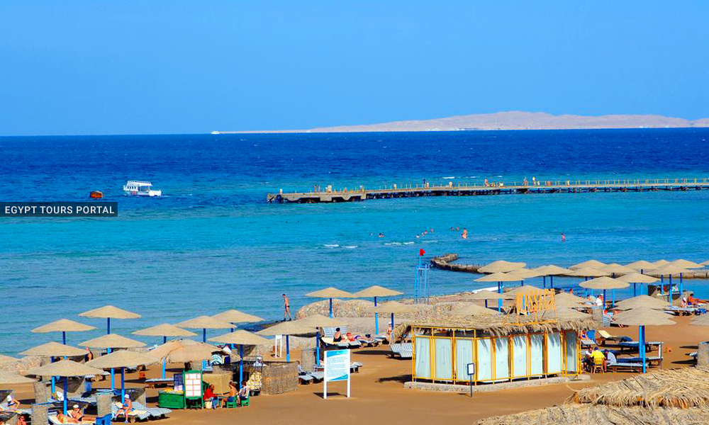 Hurghada Long Beach - Beaches in Hurghada - Egypt Tours Portal