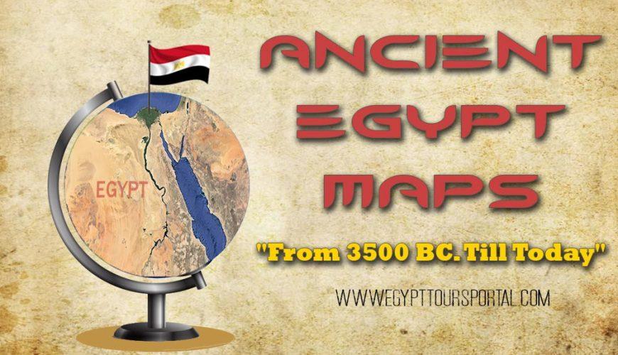 Egypt Maps - Egypt Tours Portal