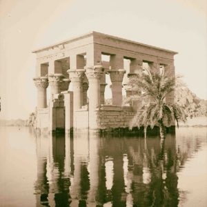 Trajan's Kiosk of Philae on the Flood - Philae Temple Relocation - Egypt Tours Portal