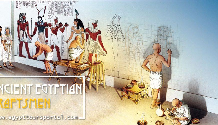 Ancient Egyptian Craftsmen - Egypt Tours Portal