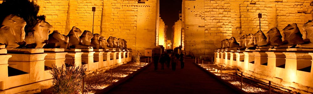 Tour Itinerary:Karnak Temple Sound and Light Show Tour