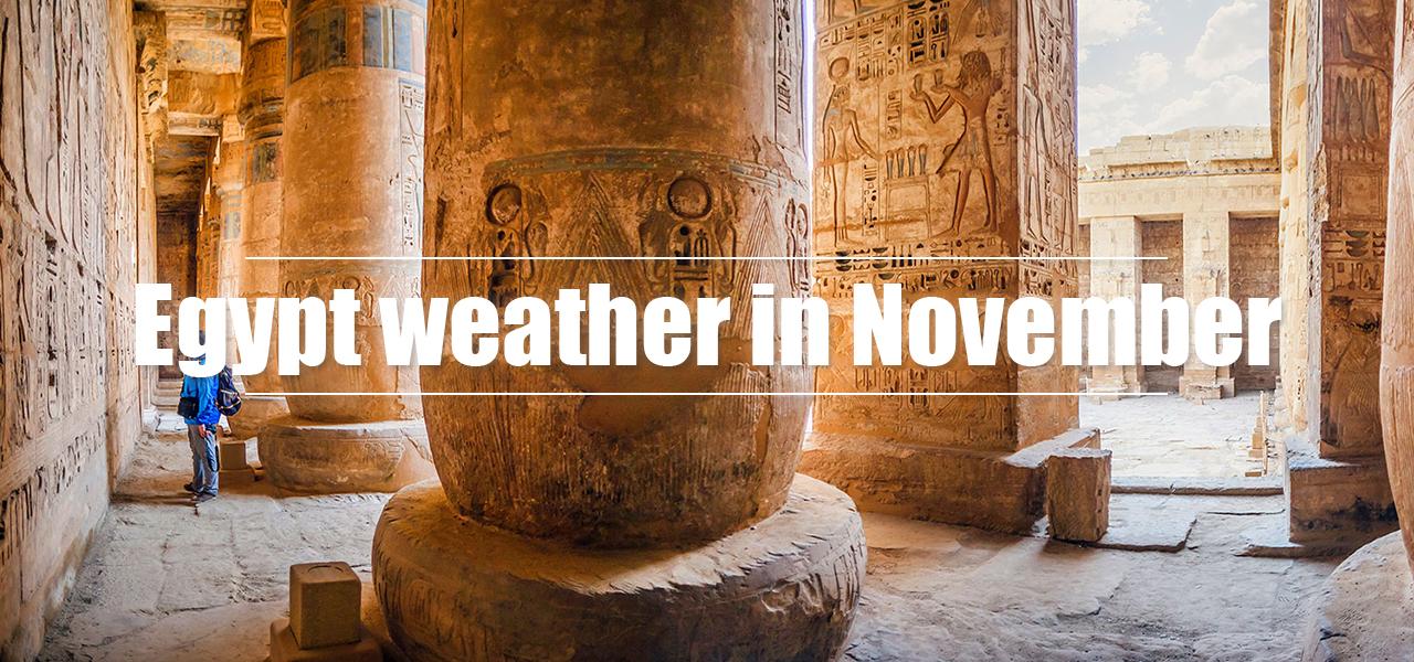 Egypt weather in November - Egypt Tours Portal