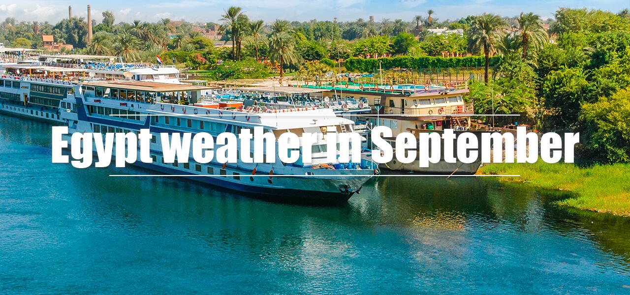 Egypt weather in September - Egypt Tours Portal