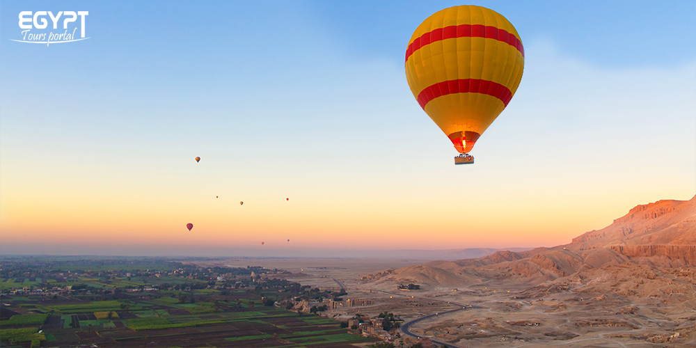 Hot Air Balloon in Luxor During Easter - How to Enjoy Egypt Easter Holiday - Egypt Tours Portal