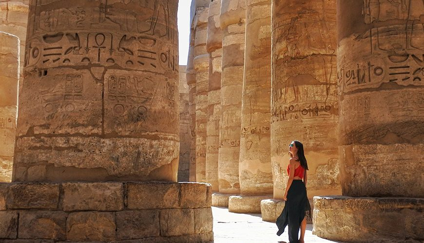 Karnak Temple in Luxor - Egypt Tourist Attractions - Egypt Tours Portal
