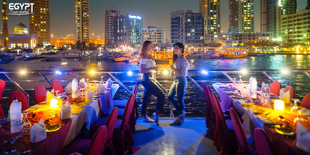 Cairo Dinner Cruise at Night - How to Spend a Night in Cairo - Egypt Tours Portal