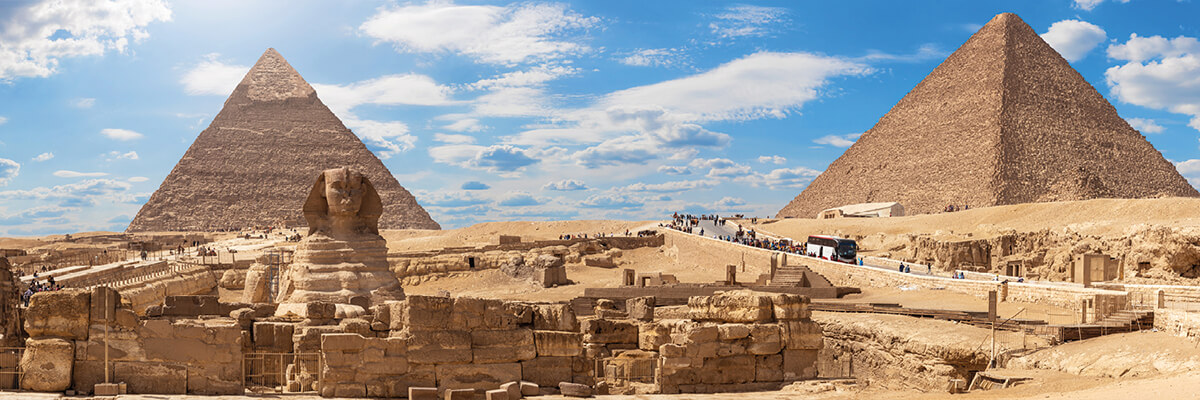 Tour Itinerary:Full Day Tour to Pyramids from Port Ghalib By Plane