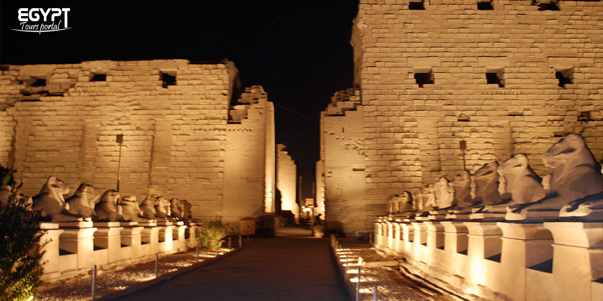 Karnak Temple Sound and Light Show - How to Spend a Night in Luxor - Egypt Tours Portal