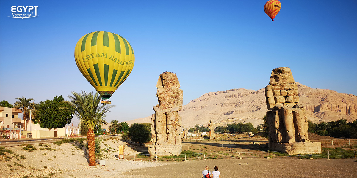 Luxor Hot Air Balloon with Your Friends - How to Plan A Vacation With Friends in Egypt - Egypt Tours Portal