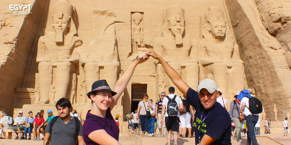Visit Abu Simbel with Your Friends - How to Plan A Vacation With Friends in Egypt - Egypt Tours Portal