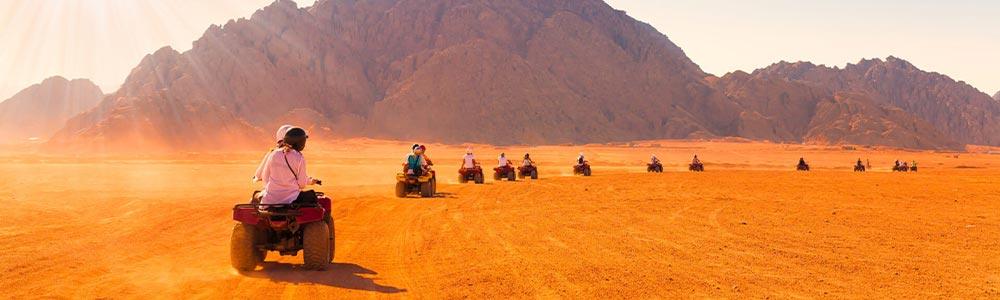 Day Twelfth:Venture into Hurghada Desert