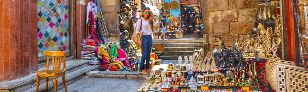 Day Three:Take The pleasure of Strolling Along Old Cairo With Your Lover