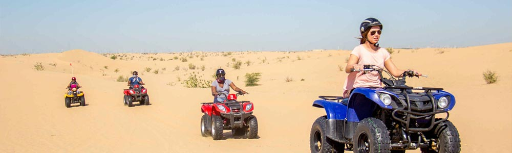 Day Four:Enjoy Desert Safari Adventure - Fly to Cairo