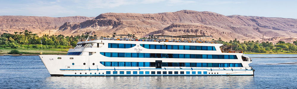 Itinerary One:4 Days Oberoi Zahra Nile Cruise from Aswan