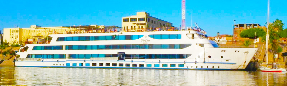 Itinerary One:8 Days Oberoi Zahra Nile Cruise from Aswan