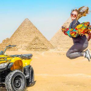 Quad Biking At Giza Pyramids From Cairo